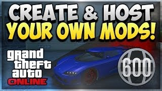 GTA 5 Online How to Host an RP Modded Lobby - GTA V Modded Jobs - Hacked Missions AFTER PATCH