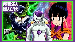 FRIEZA REACTS TO PERFECT CELL VS CHI CHI!