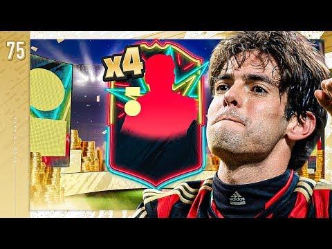 I CAN'T BELIEVE THESE OTW PACKS!! - FIFA 20 KAKA ROAD TO GLORY #75