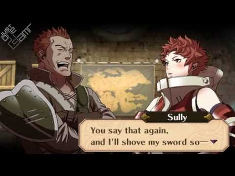 Fire Emblem Awakening - Gregor & Sully Support Conversations