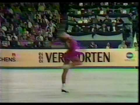 Katarina Witt (GDR) - 1984 Worlds, Ladies' Long Program