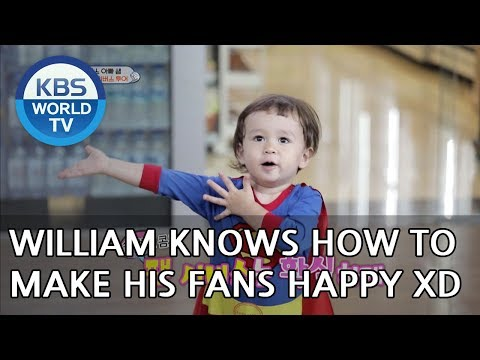 William knows how to make his fans happy XD [The Return of Superman/2018.07.22]