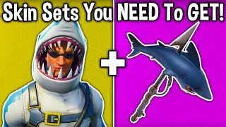 5 BEST SKIN SETS YOU NEED TO GET in Fortnite! (u must buy these cosmetic sets )