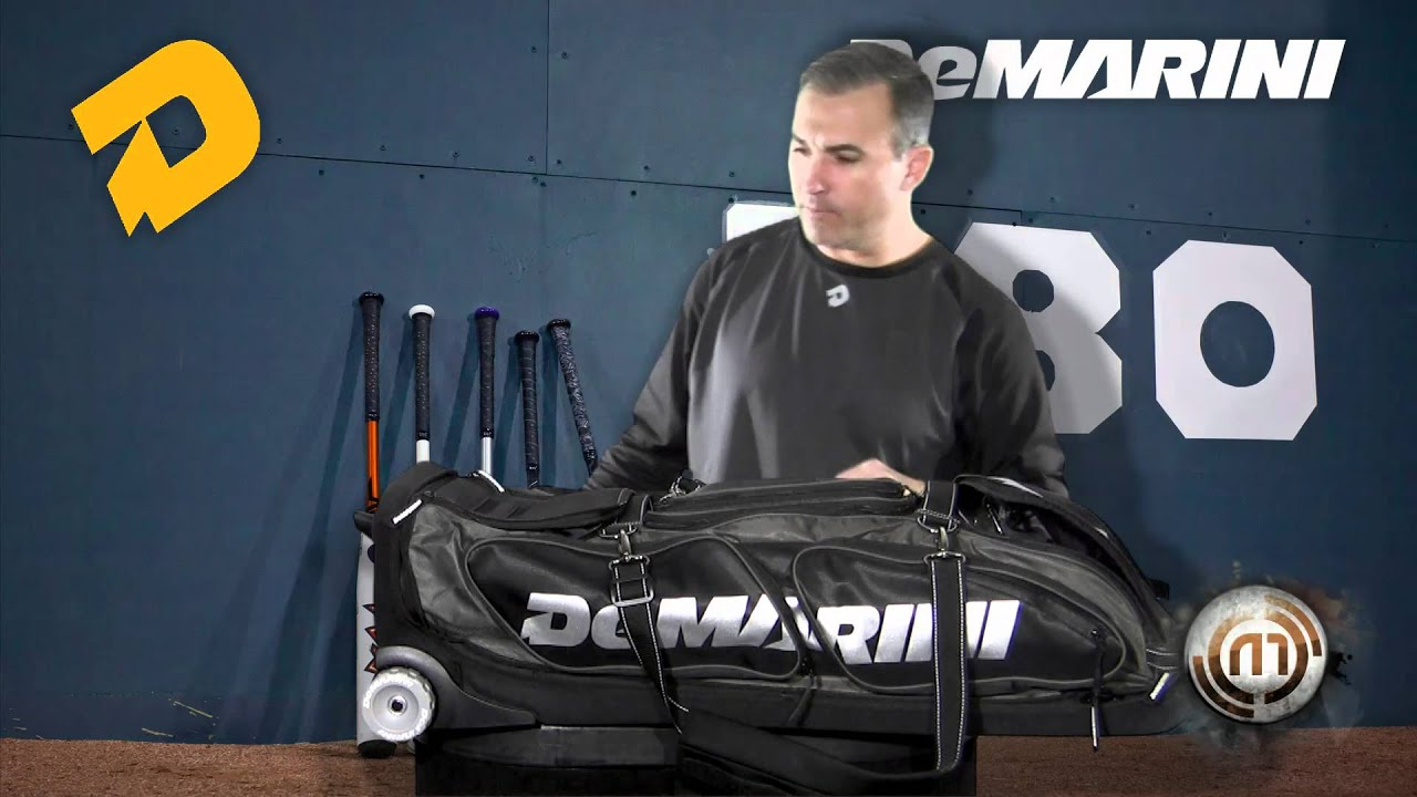 Black Ops Roller Bag Demarini Black Ops Wheel Bag