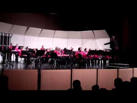 Fantasy on An Irish Air by Richard Saucedo - South Park Middle School 8th Grade Band