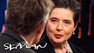 Isabella Rossellini got fired for looking «too old» at 42: – It was bad   Skavlan