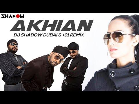 Nindy Kaur ft RDB   Akhian DJ Shadow Dubai & +91 Remix   Official...