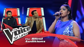 Dilmi Fernando - Chandelier  | Blind Auditions | The Voice Sri Lanka