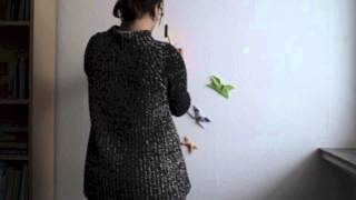 Cheap Decor With Origami Butterflies