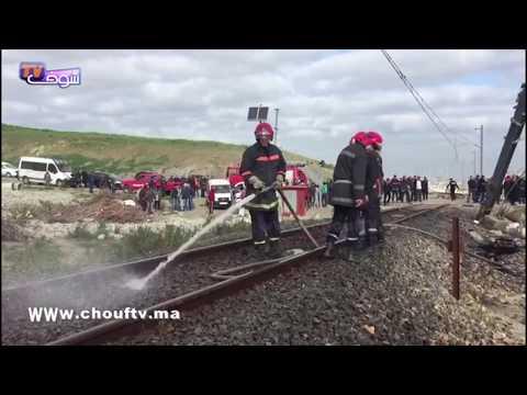 أول فيديو من فاجعة طنجة بعد وفاة 6 مستخدمين