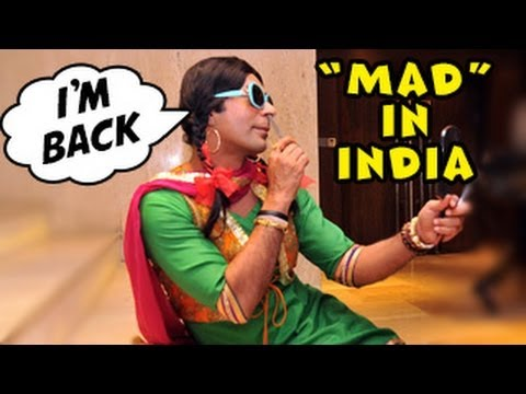 Sunil Grover Aka Chutki In Mad In India 16th February 2014 video