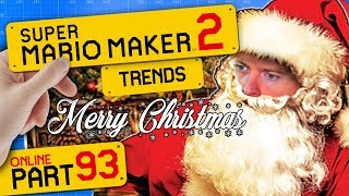 SUPER MARIO MAKER 2 👷 #93: Merry Christmas, Jingle Bells & Links icy Archery Training