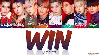 ATEEZ (에이티즈) - 'WIN' Lyrics [Color Coded_Han_Rom_Eng]