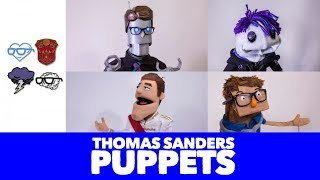 How I made the Thomas Sanders Puppets! - Learning New Things About Ourselves | Sanders Sides