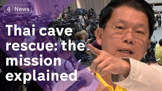 Thailand cave rescue press conference: the mission explained