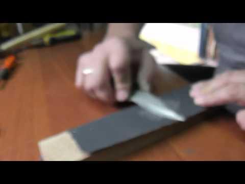 Бюджетный способ заточки ножей, за 12 гривен
