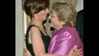 MUJER CONTRA MUJER - Cristina & Bachelet