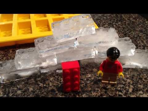 Lego Ice Cube Tray - Coolest 2x4 Lego Brick Yet - literally