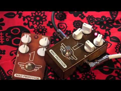 Mad Professor 1 guitar pedal demo with Gibson SG Brown Sound in a pedal
