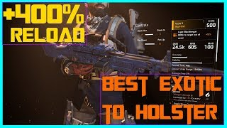 The Division 2   Best Exotic/LMG Combo For PVP