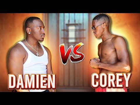 1 VS 1 AGAINST COREY FROM CARMEN & COREY ($10,000 CHARITY GAME)