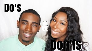 Couples Video| Do's & Don'ts of Living With A Boyfriend/Girlfriend