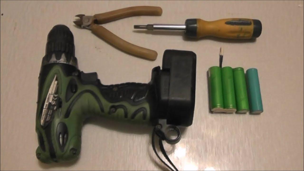 Ремонт аккумулятора шуруповерта своими руками хитачи 7