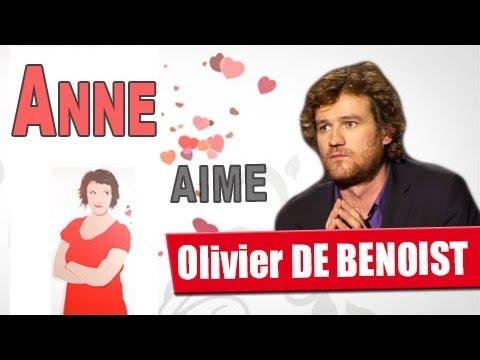 Anne Roumanoff aime Olivier de Benoist