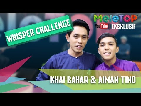 download lagu Whisper Challenge Bersama Aiman Tino & K gratis