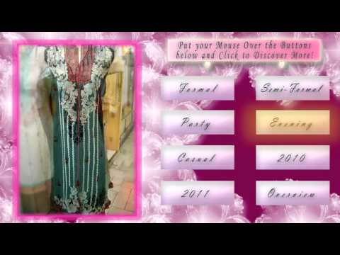 Indian Suits Online & Pakistani Fashion (designer) Dresses In 2010 video