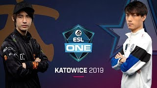 Dota 2 - fnatic vs. Aster - Game 1 - Group B Ro1 - ESL One Katowice 2019