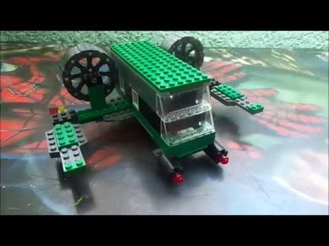 Como hacer una nave espacial Lego (Mr :P)