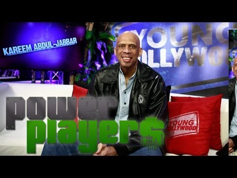 Kareem Abdul-Jabbar's 3-Pointer: Ambassador, Author, &amp; Filmmaker - POWER PLAYERS