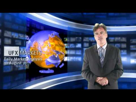 UFXMarkets *Daily Gold & Forex Trading News* 30-August-2011