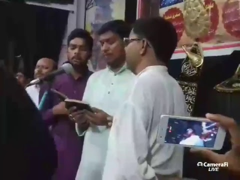 Live Matamdari on 2nd Muharram at Gopalpur, Bihar, India