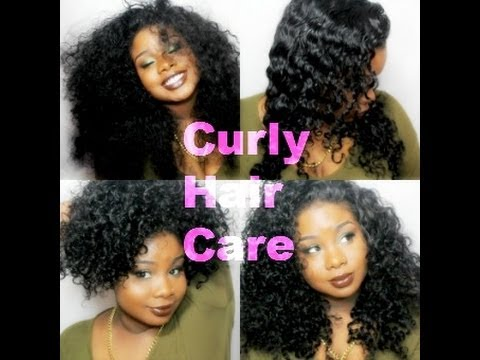 How to care for Curly Hair & Extensions ♥