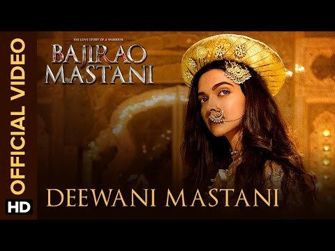 Deewani Mastani | Official Video Song | Bajirao Mastani | Deepika Padukone, Ranveer Singh, Priyanka