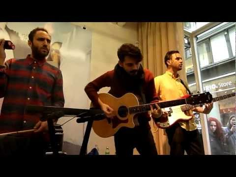 Local Natives - Breakers (Acoustic at Our Legacy, Stockholm - Feb 23rd 2013)