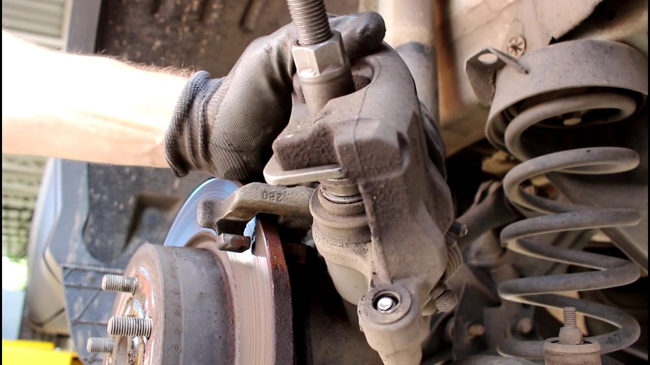 Форд фокус 2 замена задних тормозных колодок  219
