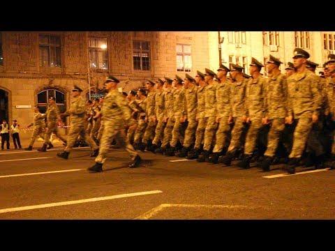 Парад до Дня Незалежності України (репетиція)