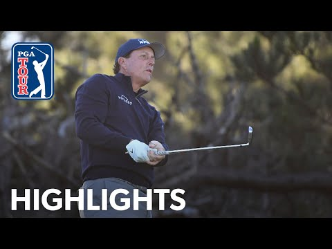 Phil Mickelson shoots 4-under 68 | Round 1 | AT&T Pebble Beach 2020