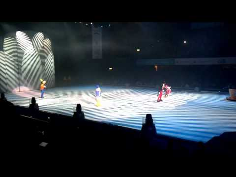 2/3 Disney On Ice Aventuras 2011 Buenos Aires Sobre Hielo Julio 24 Show Luna Park Disney 2011 HD