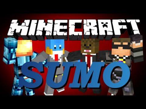 Minecraft SUMO Minigame w/ SkyDoesMinecraft. MinecraftUniverse. HuskyMudkipz and Jerome