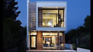 Construyehogar - Casas estrechas y largas ...