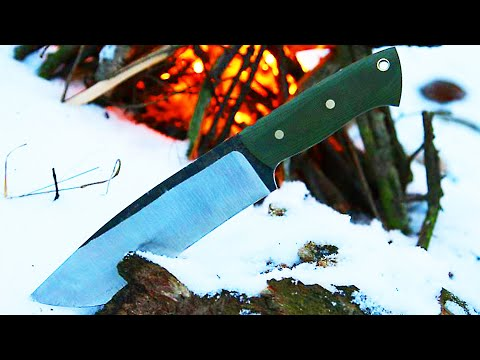 Knifemaking - knife from a wood saw Music Videos