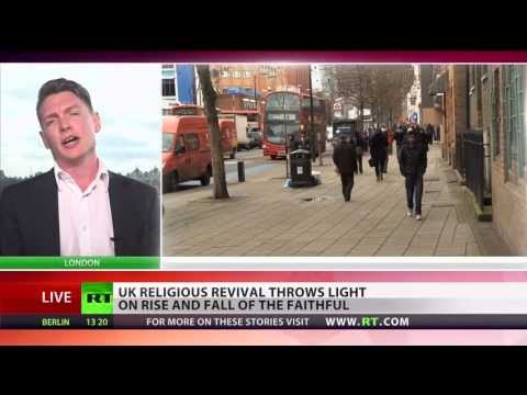 Russia Today: Decline of Christianity and rise of Islam in UK
