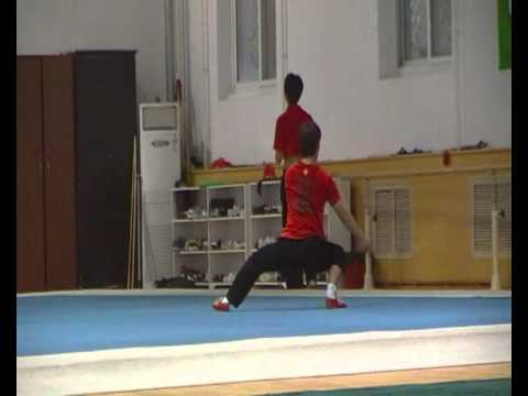 Taijiquan optional Beijing Sport University, Wushu Team, Summer 2010.MP4