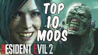 Resident Evil 2 - TOP 10 MODS!