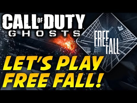 Call of Duty Ghosts FREE FALL!! Map Multiplayer Gameplay - COD Ghosts Moshpit Online