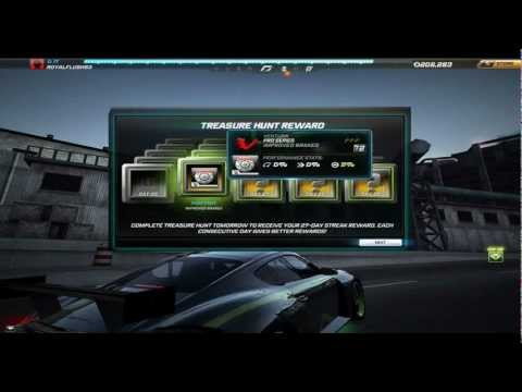 NFS WORLD Treasure Hunt rewards 125-days